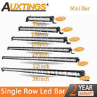 Super Mini 7 13 20 2532 38 Inch Led Light Bar Single Row Work Lights
