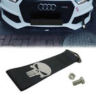 High Strength Reflective Skull Race Tow Strap for Front Rear Bumper Towing Hook