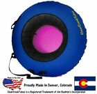 Choose Your Own Color ClearCreekTubes 44 Inflated Snow Tube Combo Pink Bottom