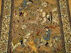 3.6 x 5.8 Hand Knotted Supper Fine Quality Persian Oriental Kork Wool