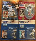 Starting Lineup SLU 4 Figure Angels LOT - Rod Carew Troy Glaus  Anderson Edmunds