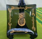 Jamaica Inn, black glass dish, Touristware