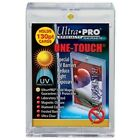 50 ULTRA PRO One Touch Magnetic Thick Holders 130pt UV Gold Magnet