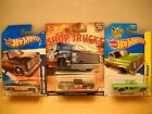 Hot Wheels Car Culture Shop Trucks KMart Day Racing 83 Chevy Silverado Set Lot