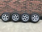 4 Genuine VOLVO 240 244 245 740 760 850 GL SE GLT VIRGO ALLOY WHEELS With tyres