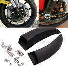 Racing Front Brake Ducts Cooling System For CBR1000RR / R1 / Kawasaki H2/ Ducati