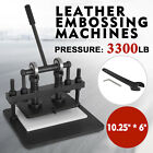 260X150 mm Manual Leather Cutting Machine Die Cut  Leather Embossing Machines