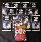 Star wars Topps trading cards, 46 cards with 1 pack of connexions. Brand new