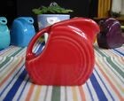 Fiesta SCARLET RED Mini Disc Pitcher Creamer  ~