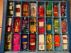 Vintage Lesney Matchbox Lot Of 25 cars with 1975 Case Some Nr Mint