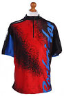 Retro Cycling Cycle Vintage Sport Race Jersey Shirt Multi Chest Size 48 CW0150