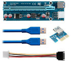 11 Kyerivs Pci E 1X To 16X Powered Riser Adapter Cards W 60Cm USB 30 Extension