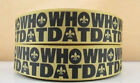 5 Yards 1 New Orleans Saints Grosgrain Ribbon Crafts Bows Scrapbooking