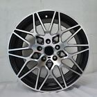 4 Wheels 18 inch Satin Black Machined Rims fits ET33 INFINITI FX50