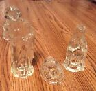 Princess House Lead Crystal Nativity Set Of 3