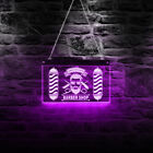 Custom Barber Shop Name Personalized Home Bar Beer LED Neon Light Sign Wall Sign