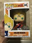 Funko Pop Majin Vegeta SIGNED 445 Over9000 Exclusive NYCC 2018 PROTECTOR