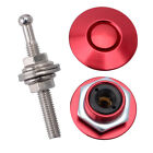 2pc Universal Push Button Billet Hood Pin Lock Clip Kit Car Quick Latch 4 Colors