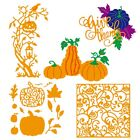 Lots Halloween Metal Cutting Dies Stencil Scrapbooking Album Decor Embossing DIY