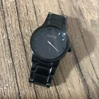 Nixon Cannon Men's Black Watch Good Condition