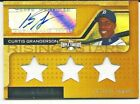 Topps Triple Threads Curtis Granderson jersey auto RARE 75 Yankee 2008 Autograph