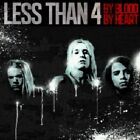 Less Than 4 - By Blood By Heart (CD Used Very Good)