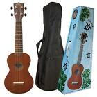 KIWAYA KSU 1 Soprano Size 12F Ukulele + Soft Case Japan new