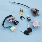 New Key Ignition Switch Lock Set For GY6 Moped 110cc 150cc 250cc Scooter