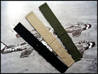 Canvas WWII 2pc Military watch band Vintage strap nato IW SUISSE 16 18 20 22mm