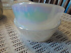 Vintage Federal Glass Bowls Opalescent Moonglow Iridescent
