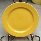 Vintage Homer Laughlin Harlequin Salad Plate in Yellow