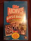 2012 Topps Archives Factory Sealed Hobby Box! Bryce Harper SSP??