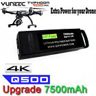 Non OEM LiPo Battery 7500mAh 111V 3S For Yuneec Q500 4K Typhoon G RC Drone