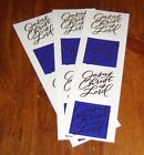 Mrs Grossman Lot of Three Reflections Sticker Strips Jesus Christ is Lord