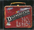 D Generation - No Lunch CD **BRAND NEW/STILL SEALED**