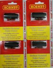 4x Hornby R8243 Surface Mounted Point Motor OO Gauge