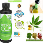 100% Pure Natural Organic Superfood Hemp Seed Oil Non-GMO Cold-Pressed 12 Ounce