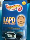 1997 Hot Wheels LAPD Police Cruiser 1 Of 10000 Very Limited