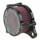 Motorcycle Black Air Cleaner Intake Filter System Kit For Harley Sportster XL883