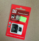 1 TB 1024 GB Micro SD card Memory Card storage with adapter  card reader New