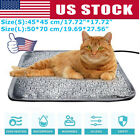 S L Pet Dog Cat Waterproof Electric Heating Pad Heater Warmer Mat Bed Blanket