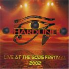 HARDLINE - Live At Gods Festival - CD - Import - **BRAND NEW/STILL SEALED**