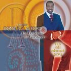 APOSTLE DONALD ALFORD - It's All About You - CD - **Excellent Condition** - RARE