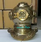 Antique Scuba SCA Divers Helmet US Navy Mark V Deep Sea Marine Divers
