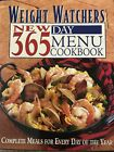 WEIGHT WATCHERS NEW 365 DAY MENU COOKBOOK EXCELLENT CONDITION LIKE NEW