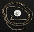 Vintage Italy 925 Sterling Silver Link Chain 24 Necklace