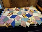 ANTIQUE LG LOT OF 29 OLD STAR QUILT SQUARES LATE 1800'S-EARLY 1900'S BEAUTIFUL