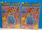 DISNEY PRINCESSES LASER STICKERS 2 SHEETS OVER 30 STICKERS