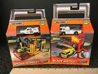 MATCHBOX  BATTLE BLAZE    SPIDER TEMPLE  Pop Up Playsets Fire Truck Engine
