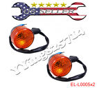 2x Rear Turn Signal Lights Light Gy6 50cc 150cc Moped Scooter Taotao peace